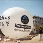 ZB-7 Küre Zeplin Balon 3 mt