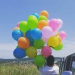 DUC-17 Uçan Balon Pastel 12 inç