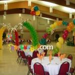 BS-6 Palmiye Ağaç Balon Süsleme