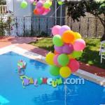 DUC-20 Uçan Balon Havuza Monte