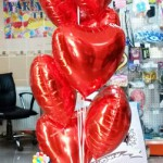 SVG1 Sevgi Mesajlı Uçan Balon