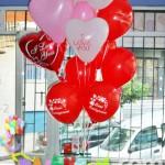 SVG10 Sevgi Mesajlı Uçan Balon