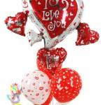 SVG11 Sevgi Mesajlı Uçan Balon