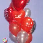 SVG13 Sevgi Mesajlı Uçan Balon