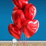 SVG3 Sevgi Mesajlı Uçan Balon