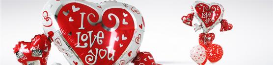 Sevgiliye Sevgi Mesajlı Uçan Balonlar