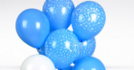 Yeni Doğan Bebekler İçin Uçan Balonlar